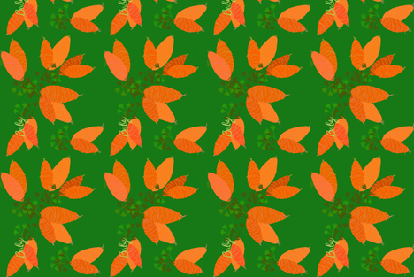 Baby Carrots-ed fabric by karencunagin on Spoonflower - custom fabric