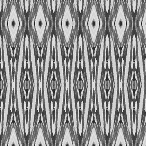 Gray Ikat Tribal