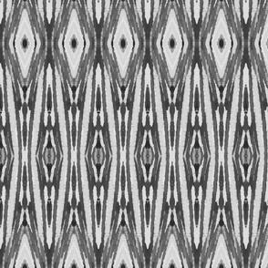 Gray Ikat Tribal, Big