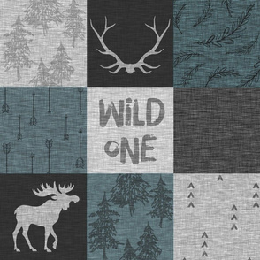 Wild one - slate and greys