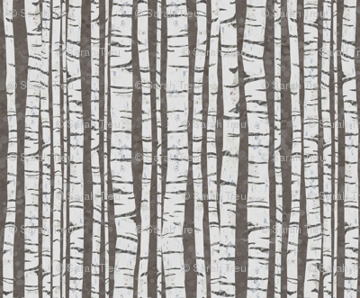 Birch Forest (large size)