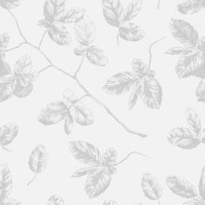 Vintage grey florals
