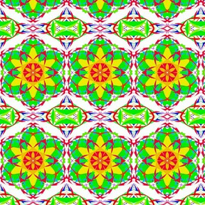 Sunny Flower  Lattice