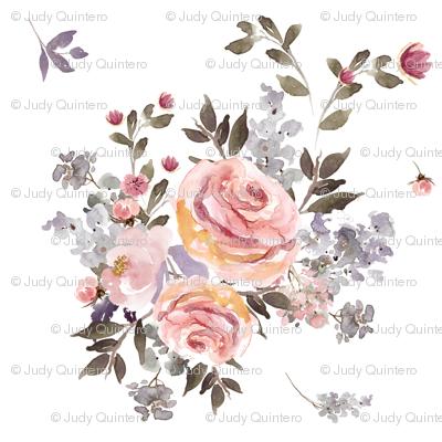 """4"""" Large Owl Floral Bouquet / Mix & Match"""