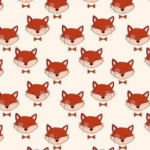 Fancy fox a real gentleman | monocle bow a real gentleman autumn cool boys girls baby clothes nursery fancy fox