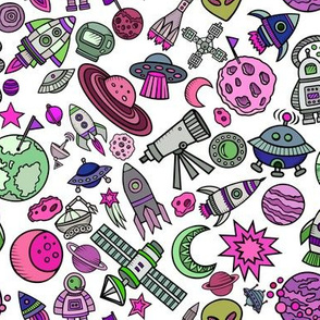 """8"""" Simple Space Objects Bright"""
