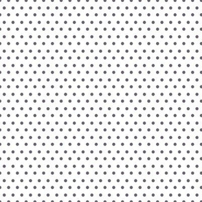 """8"""" White & Lilac Polka Dots"""
