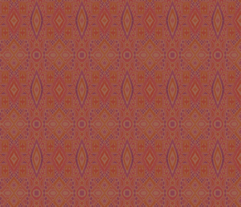 Rustic Ikat fabric by artfully_minded on Spoonflower - custom fabric