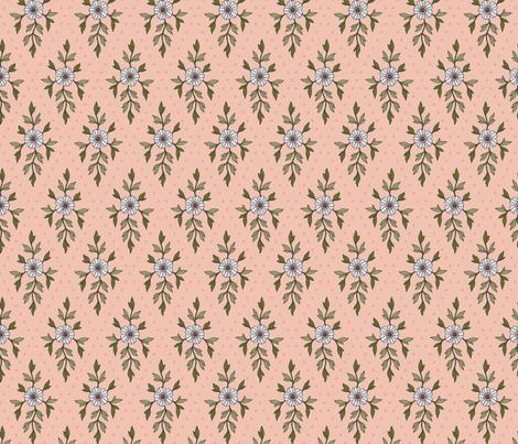 Blooming Diamonds fabric by andie_hanna on Spoonflower - custom fabric