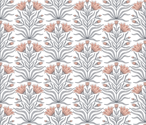 Blooming Buds fabric by andie_hanna on Spoonflower - custom fabric