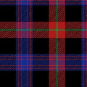 Brown clan tartan, 6""