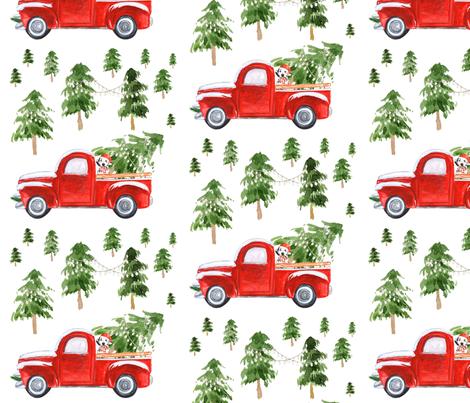 "8"" Best Friend Christmas fabric by shopcabin on Spoonflower - custom fabric"