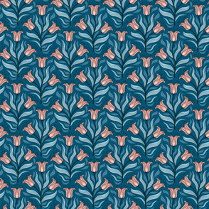 Nouveau Tulip Buds