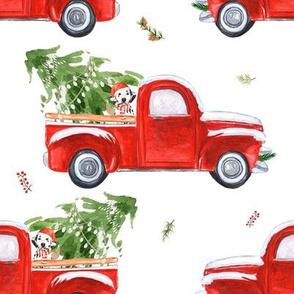"""8"""" Best Friend &  Christmas Truck"""