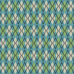 blue and green argyle 3