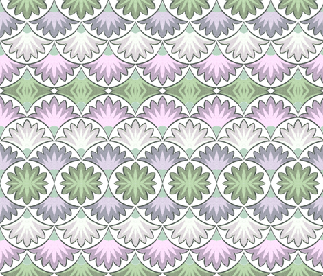 arabesque 71 fabric by hypersphere on Spoonflower - custom fabric