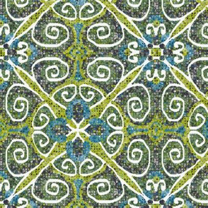 Sarah Quatrefoil Tiled