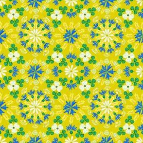 Moroccan Wheat Meadow (sm) mustard