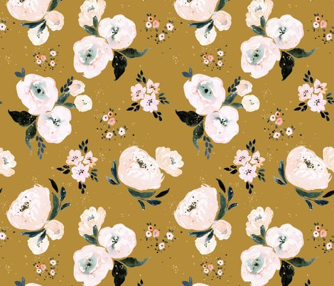Rjanice_floral_vintage_mustard_shop_preview