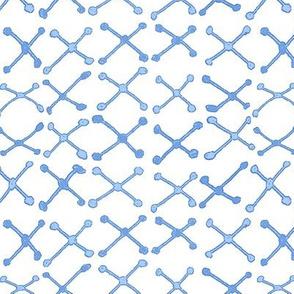 Mudcloth Xnet Blue