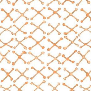 Mudcloth Xnet Coral Orange