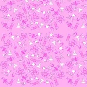 Science Girl - Light Pink