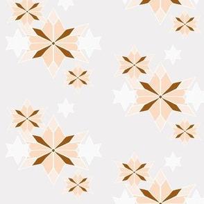 Rustic Star 2 Peach Fall Leaves Blender