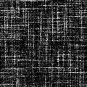 Rustic Black Faux linen
