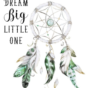 "36""x21"" Dream Big Little One / Green"