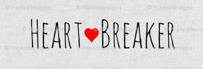 Heart Breaker // Light Gray Linen