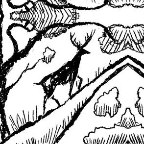 forest_deer_white