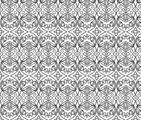 McDoodle 16 fabric by hypersphere on Spoonflower - custom fabric