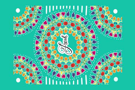 Fresh fabric by kawthar_ on Spoonflower - custom fabric