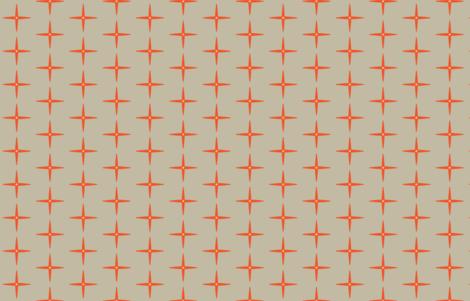 Red Dwarf Galaxy M+M Latte by Friztin fabric by friztin on Spoonflower - custom fabric