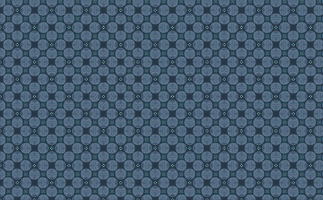 Veronica Persica M+M Navy Block Print by Friztin fabric by friztin on Spoonflower - custom fabric