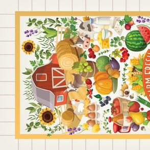 Tea Towel - Farm Challenge