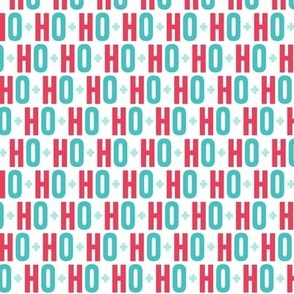 ho ho ho // red + teal