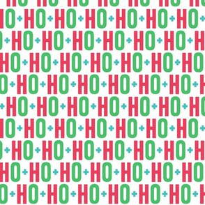 ho ho ho // green + red + teal