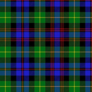 Black Watch plaid of pipers, 6""