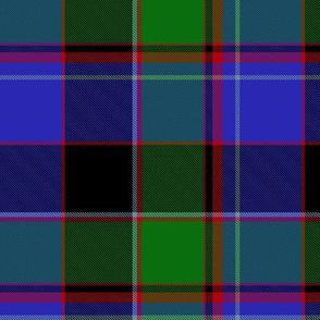 "Cameron of Lochaber tartan, 6"""