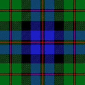 Black Watch 'coarse kilt' tartan