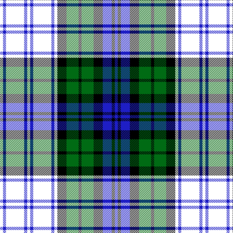 "Black Watch symmetrical dress tartan, 6"" fabric by weavingmajor on Spoonflower - custom fabric"