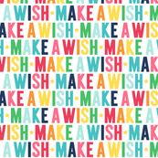 make a wish // rainbow with navy