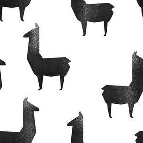 Shiny_Black_llamas Silhoutte