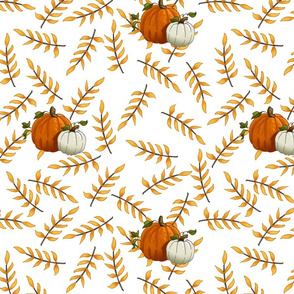 Yellow_Branch___Pumpkin_Pattern