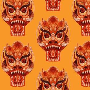 Chinese Dragon Head-ch