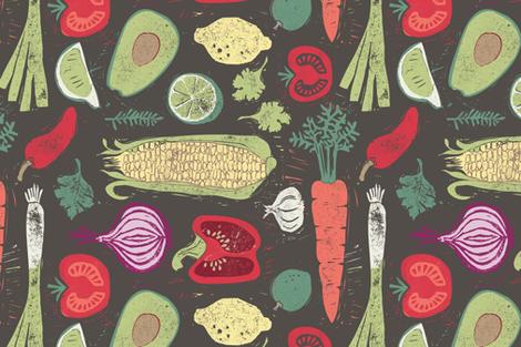 Grow your own fabric by ruth_hickson on Spoonflower - custom fabric