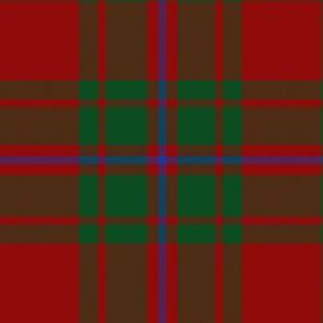 "MacIntosh 'red' tartan #3, 6"""