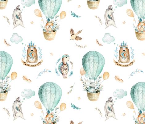 Sweet_dreamer_3 fabric by peace_shop on Spoonflower - custom fabric
