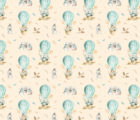 Sweet_dreamer_14 fabric by peace_shop on Spoonflower - custom fabric